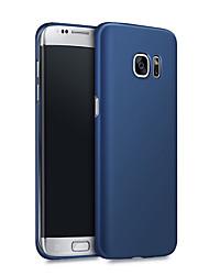 per il bordo caso opaco della cassa del pc ultra-sottile Samsung Galaxy s7 cover posteriore di colore solido duro di Samsung S8 S7 S6 S6 bordo più