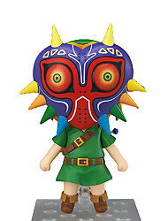 economico -Figure Anime Azione Ispirato da The Legend of Zelda Link Anime Accessori Cosplay figura Verde PVC