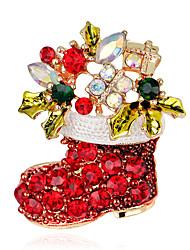 Dámské Brože Módní Vánoční bižuterie Cross Shape Šperky Pro Párty Zvláštní příležitosti Narozeniny Denní Ležérní