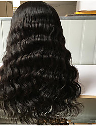 150% Density 100% Indian Remy Human Hair Wigs Lace Front Wigs Body Wave Full Lace Wigs With Natural Hairline