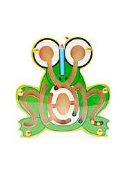 baratos -Muwanzi Blocos de Construir / Labirinto / Labirintos Magnéticos Sapo Magnética / Novidades 1pcs Crianças