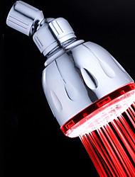 preiswerte -Moderne Regendusche Chrom Eigenschaft-Umweltfreundlich LED , Duschkopf