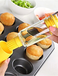 1PC Color Random Newfangled Creative kitchen Supplies Barbecue Oil Bottle Brush