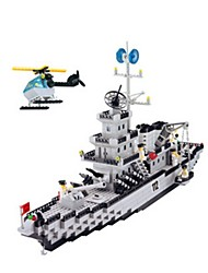 For Gift  Building Blocks Plastic 5 to 7 Years / 8 to 13 Years Toys 970PCS