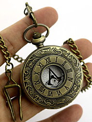cheap -Video Game Stabber Style  Sign Alloy  Conner Silver Alloy Clock/Watch