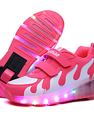cheap -LED Light Up,Unisex Kid Boy Girl Single Wheel Sneaker Athletic Shoes Sport Shoes Roller Shoes Dance Boot