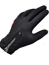 Sports Gloves Bike Gloves / Cycling Gloves Keep Warm Windproof Anatomic Design Moisture Permeability Breathable Wearproof Anti-skidding