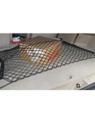 chargement arrière de rangement en filet à bagages automobile tronc réseau double couche durable universel à double couche de filet