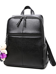 Women Bags All Seasons PU Backpack for Shopping Casual Sports Formal Outdoor Office & Career Black