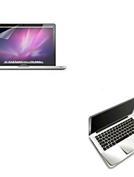 "cheap -Metal Wrist Rest Protective Film and Touch Panel Membrane + Protective Clear Screen Guard for 13.3""/15.4"" MacBook Pro"
