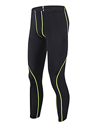 cheap -GETMOVING Men's Running Tights / Gym Leggings Sports Solid Colored Spandex Tracksuit / Compression Clothing Fitness, Gym, Workout Activewear Quick Dry, Anatomic Design, Moisture Permeability High