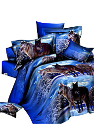 cheap -Duvet Cover Set,3D Print Bedding Comforter Sets Bedspreads Sheets Bed in A Bag Fashion Home Quilt Linen
