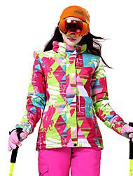 Sportivo Abbigliamento da neve Top Per donna Abbigliamento invernale Tessuto sintetico Classico Vestiti invernali Tenere al caldoSci