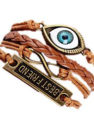 Bracelet Bracelets Rigides Alliage Amour Pierre Anniversaire Quotidien Bijoux Cadeau Kaki,1pc