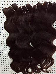 cheap -Brazilian Hair Virgin Human Hair Body Wave Human Hair Weaves 4pcs Odor Free Hot Sale Best Quality Natural Extention Party Natural Color