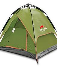 Naturehike 3-4 Pessoas Tenda Abrigo e Lona Encerada Duplo Barraca de acampamento Um Quarto Tenda Automática Bem Ventilado Prova-de-Água