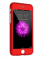 Per iPhone 8 iPhone 8 Plus iPhone 6 iPhone 6 Plus Custodie cover Resistente agli urti Integrale Custodia Armatura Resistente PC per Apple