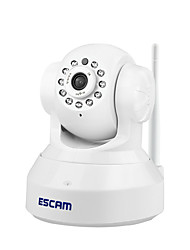 cheap -ESCAM® QF001 1.0 MP PT Indoor IP Camera with Day Night Motion Detection Dual Stream IR-cut Remote Access