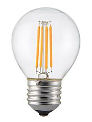 Недорогие -1шт 4 W 350 lm E14 / B22 / E26 / E27 LED лампы накаливания G45 4 Светодиодные бусины COB Декоративная Тёплый белый / Холодный белый 220-240 V / 1 шт. / RoHs
