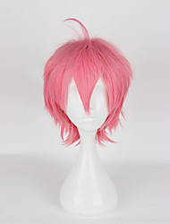 Parrucche Cosplay Cosplay Cosplay Rosa Corto Anime Parrucche Cosplay 35cm CM Tessuno resistente a calore Donna