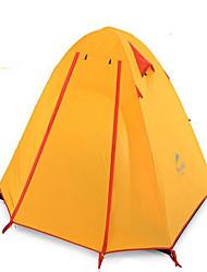 Naturehike 2 Pessoas Tenda Abrigo e Lona Encerada Duplo Barraca de acampamento Um Quarto Barracas de Acampar Leves Bem Ventilado
