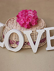 cheap -Wooden LOVE letters wedding items Wooden furnishing articles in English letters