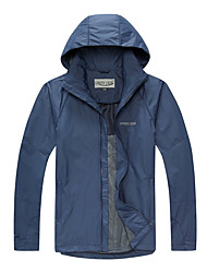 cheap -Men's outdoor Spring Softshell Jacket Full Length Visible Zipper Skiing Windproof / Breathable / Quick Dry / Thermal / Warm / Waterproof / Winter