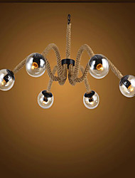 Chandelier ,  Globe Painting Feature for Mini Style Designers Glass Bedroom Dining Room Study Room/Office Entry Hallway