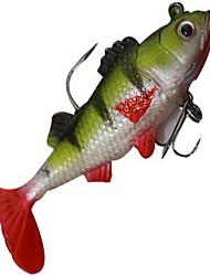 1 pc Esche rigide / Esca Esche rigide Colori casuali 14 g Oncia mm pollice,Plastica dura Pesca di mare / Pesca di acqua dolce