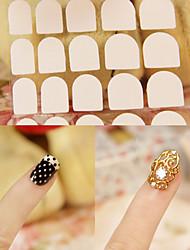 1sheet Spazzole per unghie Nail attrezzo del salone di arte Make Up