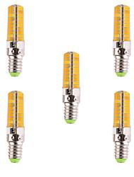 YWXLIGHT® 500-700 lm E14 LEDコーン型電球 T 80 LEDの SMD 5730 調光可能 装飾用 温白色 クールホワイト AC 110-220