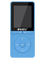 abordables -RUIZU MP3/MP4 MP3 WMA WAV FLAC APE Batterie Li-ion rechargeable