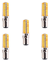 abordables -YWXLIGHT® 5pcs 500-700lm BA15D Ampoules Maïs LED T 80 Perles LED SMD 5730 Intensité Réglable Décorative Blanc Chaud Blanc Froid 110-220V