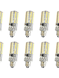 3W E14 E12 E11 Lichtdekoration T 64 SMD 3014 300 lm Warmes Weiß Kühles Weiß K Abblendbar AC220 V