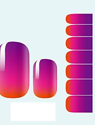 Adesivi 3D unghie - Astratto/Adorabile/Matrimonio - per Dito 1 - 10*7*0.1