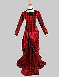 preiswerte -Gothik Viktorianisch Damen Austattungen Cosplay Langarm Asymmetrisch