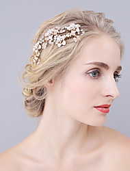 cheap -Rhinestone / Alloy Hair Combs 1 Wedding / Special Occasion Headpiece