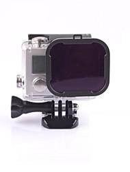 Недорогие -Погружение фильтр Для Экшн камера Gopro 5 Gopro 3 Gopro 3+ Gopro 2 катание на лодках Каякинг Вейкбординг Дайвинг Серфинг