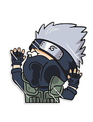 Funny Naruto Hatake Kakashi Car Sticker Car Window Wall Decal Car Styling