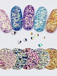 billige -1 pcs Glitter Pailletter Negle kunst Manicure Pedicure Daglig glitter / Mode