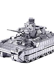 Puzzles 3D Puzzle Puzzles en Métal Petites Voitures Jouets Tank Chariot 3D Nouveautés A Faire Soi-Même Articles d'ameublement Garçon Fille