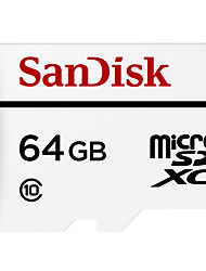 alta resistenza della carta di monitoraggio video SanDisk 64 GB Micro SD card di memoria carta di tf carta class10