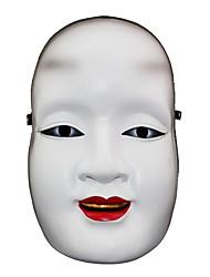Недорогие -Маски Белый, красный и черный Смола Косплэй аксессуары Хэллоуин / Карнавал / Новый год