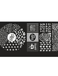 6 utiskivanje Plate Ostale dekoracije Cvijet Moda Visoka kvaliteta Dnevno