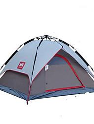 Недорогие -Naturehike 4 человека Автоматический тент На открытом воздухе Компактность С защитой от ветра Влагонепроницаемый Двухслойные зонты Палатка для Охота Походы Путешествия