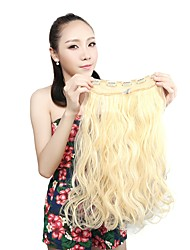 cheap -Fabric Hair Extension Classic Wavy Clip In Classic Wavy Daily High Quality