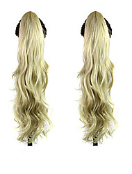 cheap -the new fashion lady curly hair claw clip horsetail 24 613 color