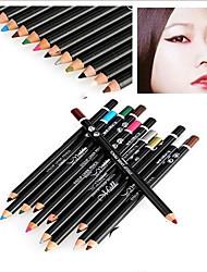 Eye Makeup Classical Mix(False Eyelash + Eyelash Tweezers+Eyeliner +Mascara +Eye Shadow Pen)