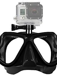 baratos -Óculos Para Câmara de Acção Gopro 5 Xiaomi Camera Gopro 4 Session Gopro 4 Gopro 3 Gopro 3+ Gopro 2 Gopro 1 Mergulho Plástico