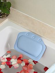 1Pcs  Bathroom Supplies Waterproof Bathtub Spa Bath Pillow With Suction Cups Head Neck Rest  Pillows Random color